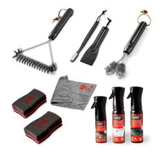 Weber BBQ Cleaning Tools-Kits- Grill Brushes-Cleaners- Sponges- Maintanence Kit | eBay Stainless Steel Bbq Grill, Stainless Steel Cleaner, Cleaning Kit, Deep Cleaning, Grill Cleaning, Weber Gas Grills, Grill Brush, Bbq Accessories, Bbq Cover