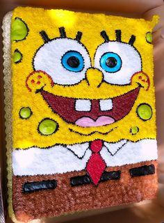 Pastel Bob Esponja #cake #SpongeBob #birthdaycake #pasteldecumpleaños Birthday Cupcakes, Birthday Party Themes, Spongebob Square, Cake Decorating Piping, Torte Cake, Fourth Birthday, Party Cakes, Cupcake Cakes, Baking