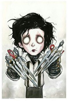 Dark art: Edward Scissor Hands
