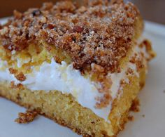 Serenity Cove: The Best Cream Filled Coffee Cake - yeah, this sounds fa-bu-lous!!