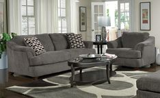 gray living rooms   ... .com/uncategorized/vintage-grey-sofa-inspires-apartment-decor