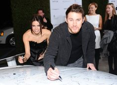 Pin for Later: Step Up and See Channing and Jenna's Most Magical Relationship Moments  Jenna and Channing got in on the fun at the Vanity Fair Oscar party in LA in February 2011.