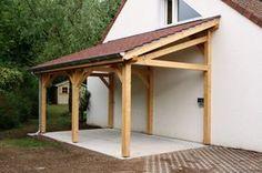 Garage 1 pente 2.70mx7.00m - Cerisier : abris de jardin en bois