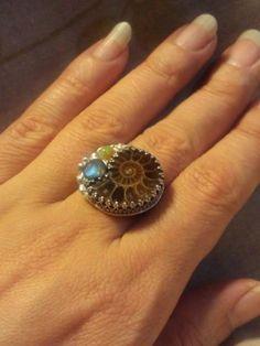 アンモナイトリング Ammonite Ring