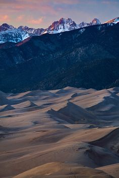 Great Sand Dunes National Park, Colorado, photo by Stan Rose