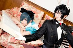 Photo by 霧島さん シエル:黒蜜さん  Photo album http://www.cosp.jp/photostock_title.aspx?id=1022784