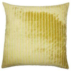 The Pillow Collection Maaike Striped Bedding Sham Size: King, Color: Peridot