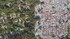 Drones mostram desigualdade vista de cima na África do Sul