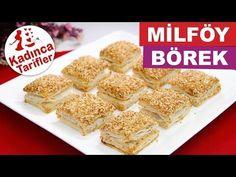 Simit Tadında Milföy Börek Tarifi Videosu | Kadınca Tarifler | Kolay ve Nefis Yemek Tarifleri Sitesi