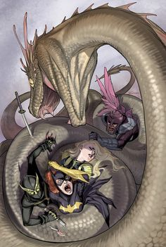 [Birds of Prey #22] Cover art by Ricken-Art.deviantart.com on @deviantART