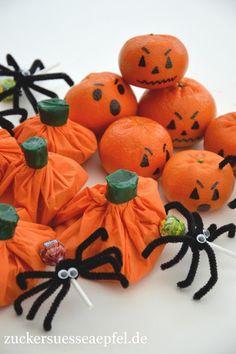 ♥ Zuckersüße Äpfel ♥: Tolle Ideen für Halloween zum Basteln und Naschen