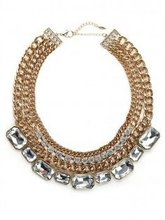 Bauble Bar Essentials Collection-46$ gold-tier-gem-collar  http://www.baublebar.com/styles/the-essentials/gold-tier-gem-collar.html