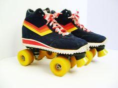 Vintage Roller Skates size 10 Free Formers. $89.00, via Etsy.