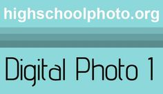 complete curriculum for high school digital photography 1. HUGE thanks to…