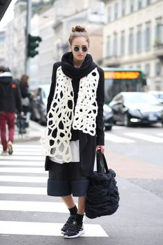 Milan Fashion Week street style!