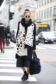 Milan Fashion Week street style!