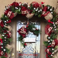 Excited to share this item from my shop: Christmas Cardinal Front Door Garland and Wreath, Cardinal Garland, Buffalo Check Christmas Decor, Red and Black Christmas Decor Black Christmas, Rustic Christmas, Christmas Wreaths, Christmas Crafts, Cardinal Christmas Decor, Etsy Christmas, Front Door Christmas Decorations, Christmas Front Doors, Holiday Decor