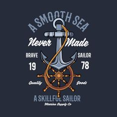Check out this awesome 'Anchor+nautical' design on Nautical Design, Vintage Nautical, Nautical Anchor, Nautical Theme, Safari Theme Birthday, T Shirt Label, Boys T Shirts, Tee Shirts, Smile Wallpaper