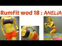 ANELIA WOD 18 : RumFit Challenge: Abs, Booty And Back Thigh Fat Exercises, Total Body Workout - YouTube