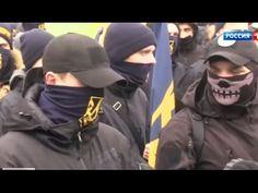 Neonazistas ucranianos bloqueiam minas de carvão e querem expulsar Poros...