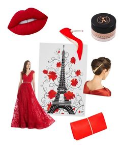 """Take Me to Paris Please"" by marifercalleja ❤ liked on Polyvore featuring Morrell Maxie, Lime Crime, Anastasia Beverly Hills, Sophia Webster, Lelet NY and Nina Ricci"