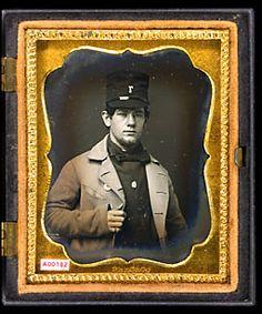 The Daguerreian Society: NEA Search - Detail. ca. 1853-1854. Fireman.