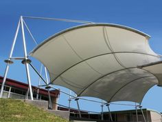 Outstanding Achievement Award for tensile structures under 558 sq.m: Nerang State High School Amphitheater