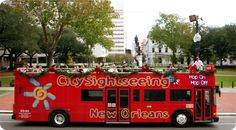 http://www.citysightseeingneworleans.com/  Hop - On Hop - Off New Orleans City Sightseeing Tour