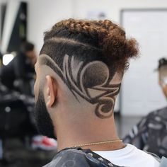 Check out these braid styles for men including cornrows, box braids, zig zag braids, 2 braids and braided dreadlocks. Braid Styles For Men, Hair Styles, Cornrow Hairstyles For Men, Hair Designs For Men, Braided Dreadlocks, Barbie Hairstyle, Shaved Hair Cuts, Low Maintenance Hair, Cool Braids