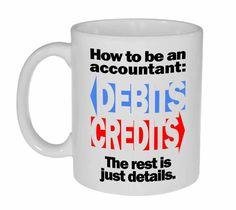 How To Be An Accountant Coffee or Tea Mug