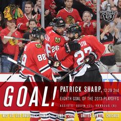 We swear, Patrick Sharp is in here... somewhere... - Photo by nhlblackhawks