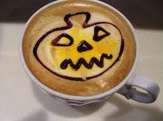 cappuccino art Cappuccino Art, Latte, Pudding, Tableware, Desserts, Halloween, Food, Tailgate Desserts, Dinnerware