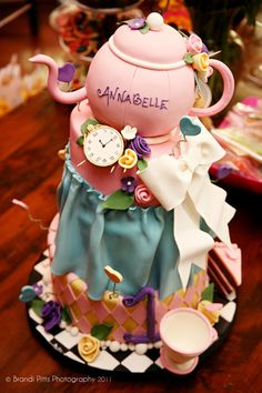 Alice in Wonderland | 1st Birthday!  Look at the name!!  who would this be perfect for!!