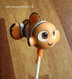 Finding Nemo Cake Pop made by The Cake Pop Princess