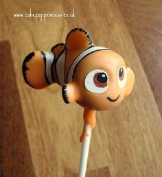 Finding Nemo Cake Pop made by The Cake Pop Princess