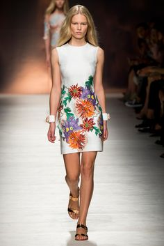 Blumarine - Spring 2015 Ready-to-Wear - Look 6 of 45 via @blumarine