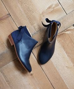Collection Noel - low boots Sezane