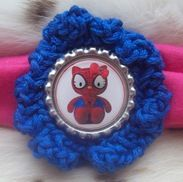 Handmade Hello Kitty as Spiderman Headband | $3 start bid | Saturday October 13, 1pm CDT #Tophatter