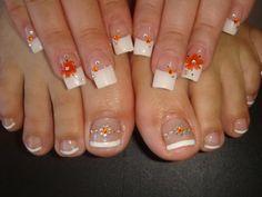 Manos y pies hermosos Cute Pedicures, Pedicure Nails, Toe Nails, Spring Nails, Summer Nails, Painted Toes, Nail Supply, Toe Nail Designs, Nails Design