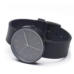 Uniform Wares 104 Series Wristwatch (Process Black & Black)