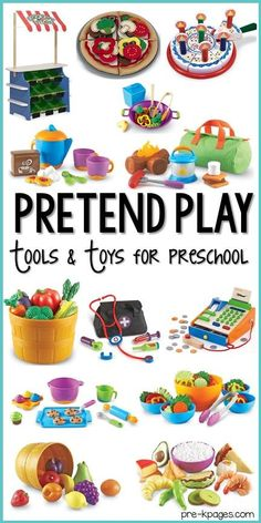Dramatic Play Tools and Toys for Preschool - Pre-K Pages