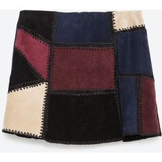 Zara Leather Mini Skirt (1.014.810 IDR) ❤ liked on Polyvore featuring skirts, mini skirts, zara, bottoms, saias, black, leather skirt, short mini skirts, black leather skirt and zara skirts