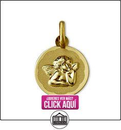 MEDALLA ORO BEBE REDONDA DE 13 MM CON ANGEL DE LA GUARDA MB.  ✿ Joyas para niñas - Regalos ✿ ▬► Ver oferta: https://comprar.io/goto/B01LHDDNKC