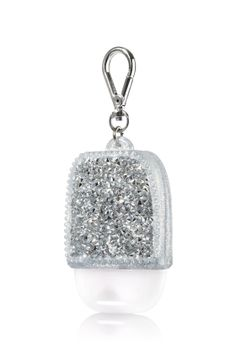 Glitzy Gems - Silver - PocketBac Holder - Bath & Body Works - Shimmer & shine with these glittering gems! A convenient clip attaches to your backpack, purse and more so you can always keep your favorite sanitizer close at hand. Bath Body Works, Alcohol En Gel, Medium Hair Styles For Women, Hand Sanitizer Holder, Rave Makeup, Perfume, Body Cleanser, Bath And Bodyworks, Faux Hawk