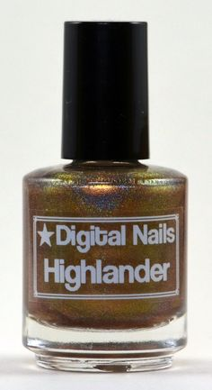 Highlander : Outlander inspired nail polish by Digital Nails on Etsy, $14.86 CAD