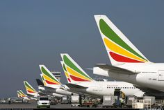 Ethiopian Airlines Boeing 777-260/LR @ ADD
