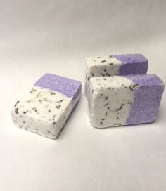 Lavender bath bomb hand made natural bath products by soapina