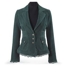 Spruce Corduroy Jacket - Women's Romantic & Fantasy Inspired Fashions
