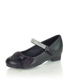 Take a look at this Black Lucy Mary Jane by Jelly Beans on #zulily today!