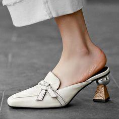 Chiko Kymberlyn Pointed Toe Block Heels Clogs/Mules Pointed Toe Block Heel, Block Heel Loafers, Heeled Loafers, Loafer Shoes, Block Heels, Heeled Mules, Women's Loafers, Shoes Heels Pumps, Mules Shoes